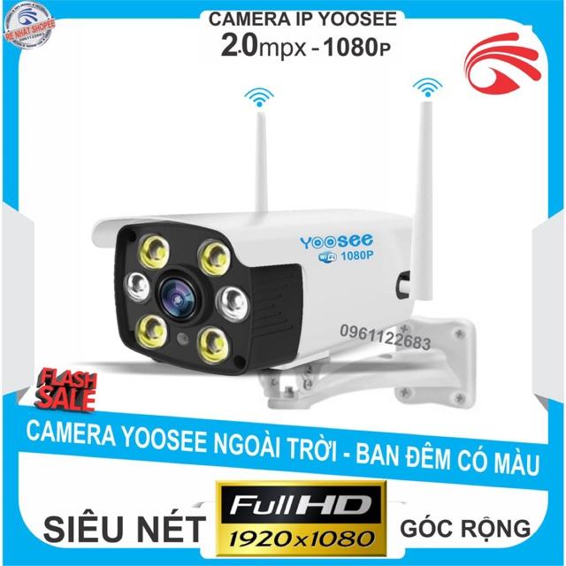 Camera YooSee ngoài trời Siêu nét 2.0mpx 1080P - 2 anten w26S