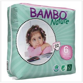 Bỉm dán Bambo Nature size S33 M30 L20 XL22 nội địa Đan Mạch