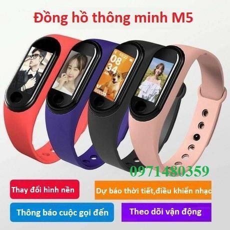 Đồng hồ thông minh thể thao M5 M4 chống nước kết nối Bluetooth