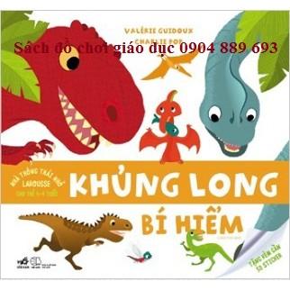 Nhà Thông Thái Nhỏ Larousse Cho Trẻ 1-4 Tuổi: Khủng Long Bí Hiểm
