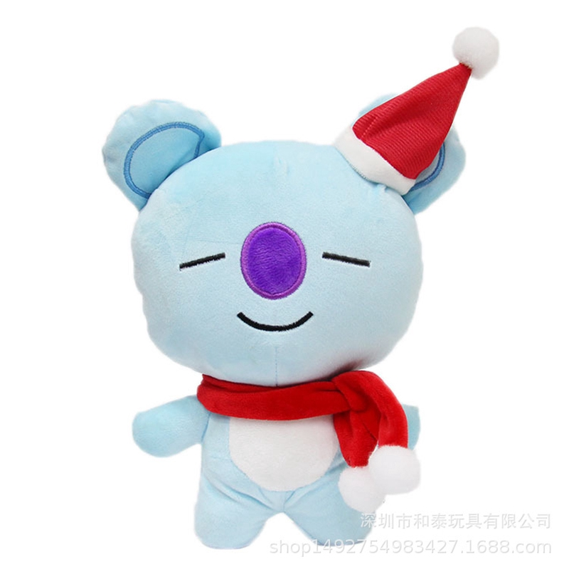 BTS KPOP Cute Bangtan Plush Stuffed Toys Christmas Gifts Suprising New Style