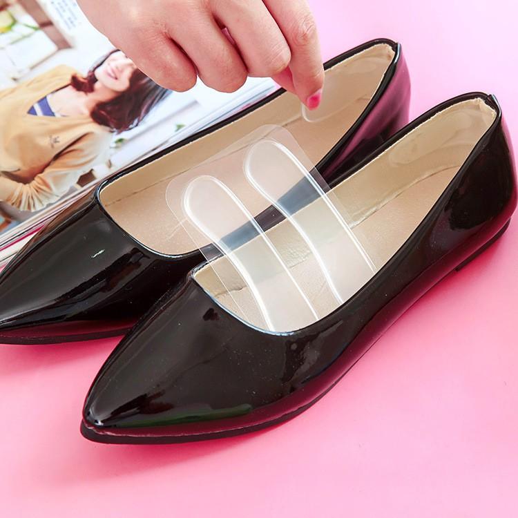 Set 2 lót giầy chống đau gót chân vỏ hồng (LGH03)