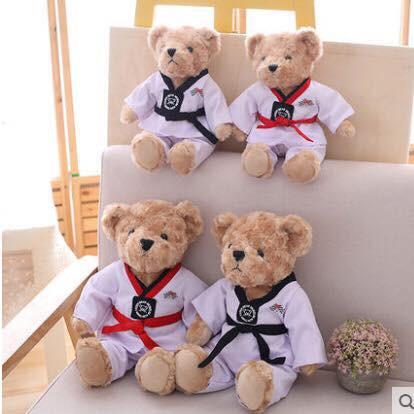 Gấu Taekwondo siêu đáng yêu