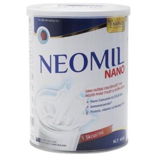 Sữa Neomil Nano 400gram- Sữa Dinh Dưỡng Chuyên Biệt Cho Người Phẩu Thuật & Dưỡng Bệnh