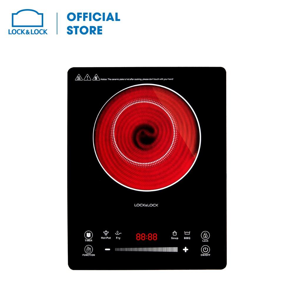 Bếp hồng ngoại Lock & Lock Infrared Cooker, 220-240V, 50/60Hz, 2000W - Màu đen EJI421