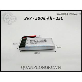 Pin 3.7V – 500mah -25C