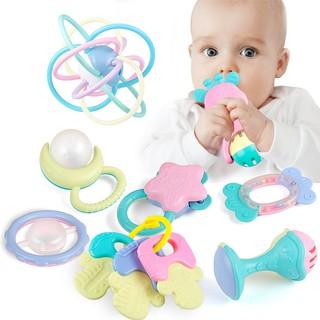 Set 11 món đồ chơi HDY phát ra tiếng và cắn được cho bé sơ sinh