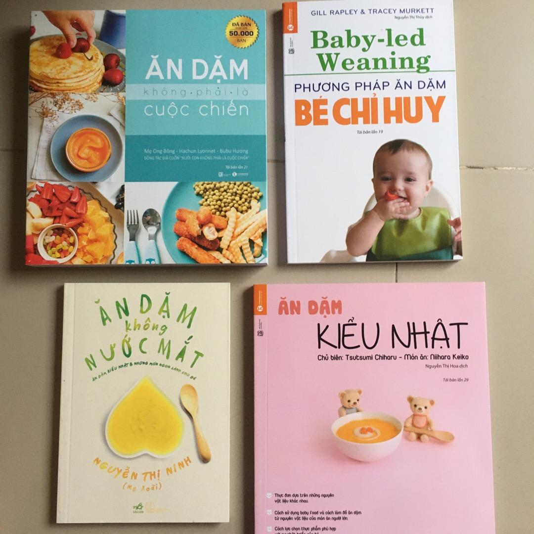 Sách Phương pháp ăn dặm bé chỉ huy - Baby Led Weaning - Ăn dặm blw