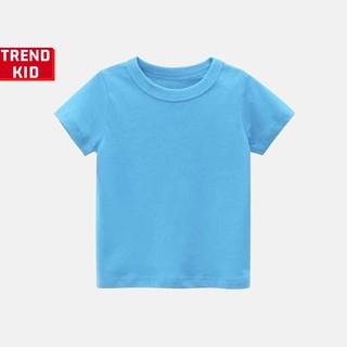 [Mã TREND20 giảm 15% đơn 99K] Áo phông cho bé trai bé gái màu xanh ngọc bích michley