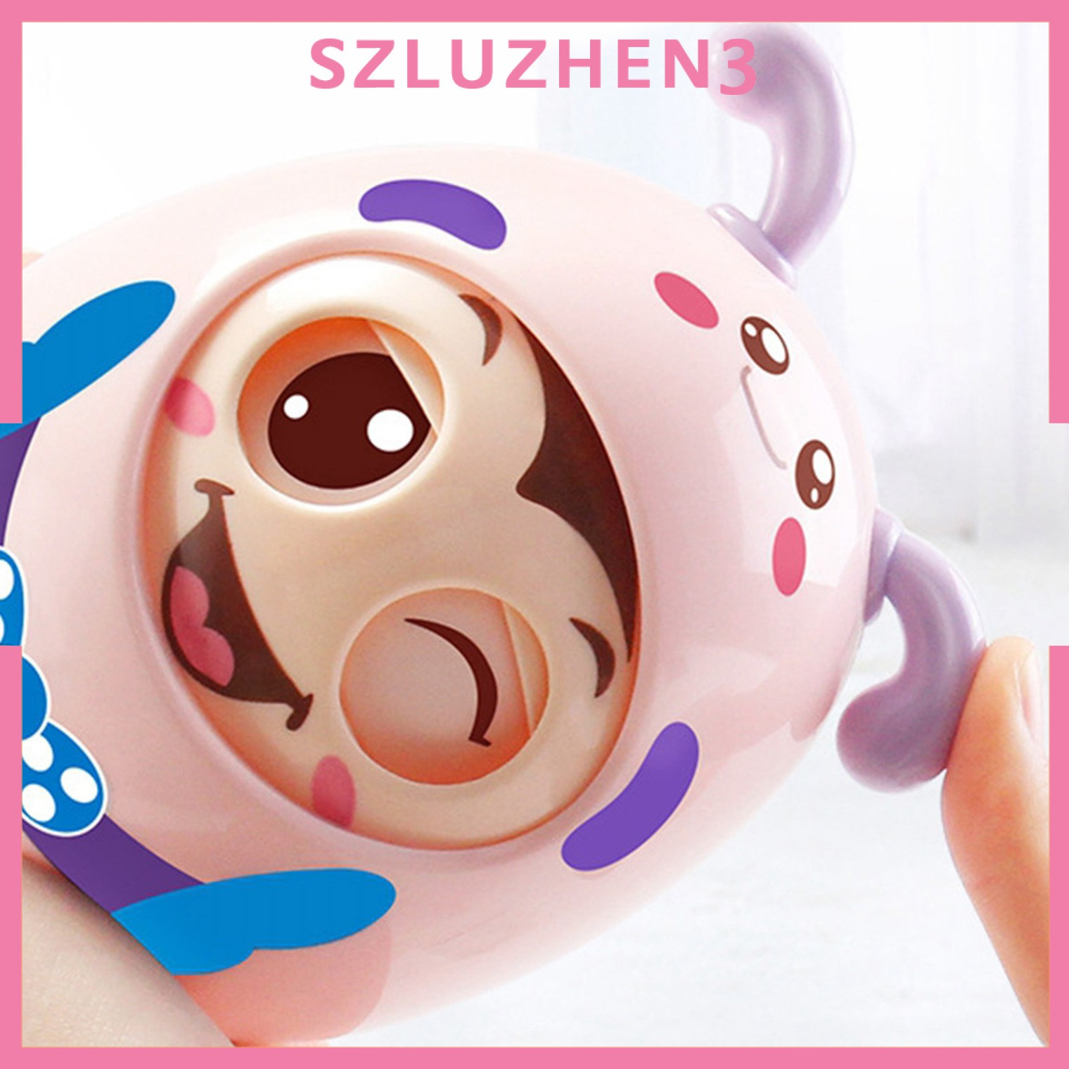 [SmartHome ] Roly-Poly Tumbler Doll Baby Toys 6-12 Month Developmental Toy