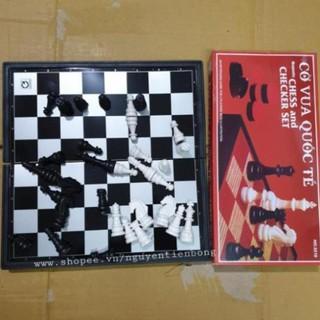 Bộ cờ vua nam châm 29cmx29cm #3210