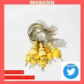 Móc lồng chim MORENO dành cho chào mào, khuyên, mi bền đẹp giá rẻ có nậm đ thumbnail