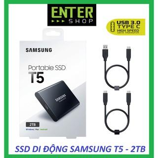 Ổ cứng SSD di động Samsung T5 - 2TB , cổng TypeC- USB 3.1