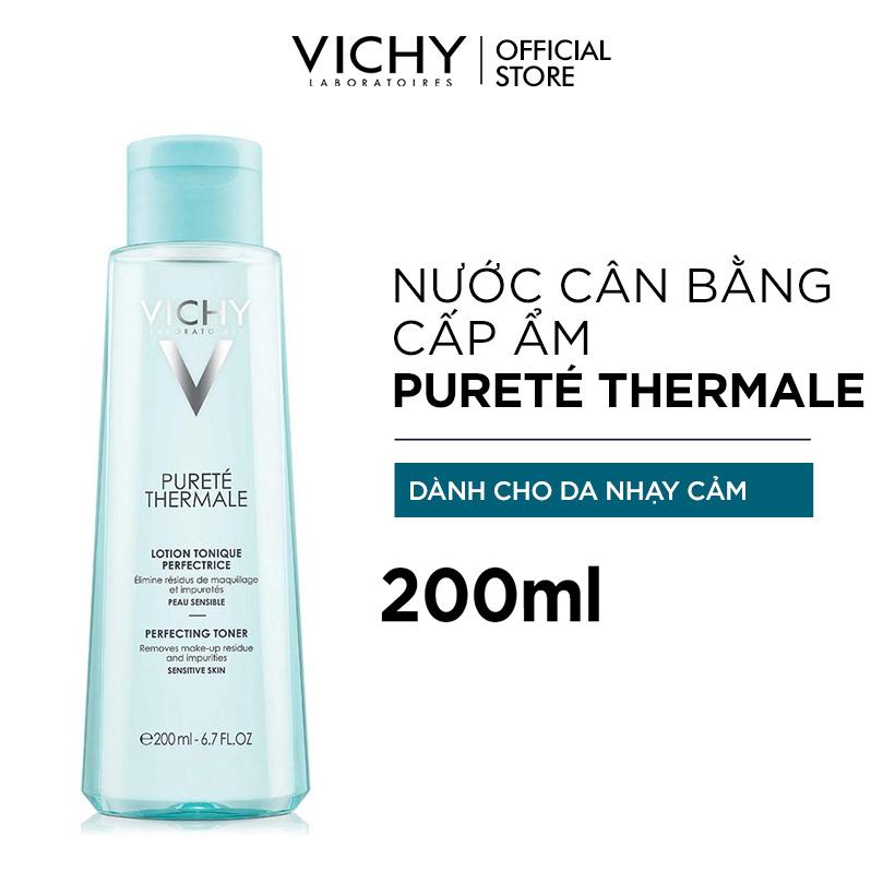 Nước Cân Bằng Cấp Ẩm Dành Cho Da Nhạy Cảm Vichy Purete Thermale Perfecting  Toner 200ml   Shopee Việt Nam