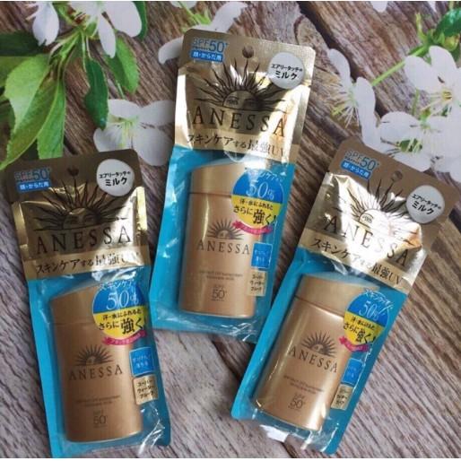 Kem chống nắng Anessa Skincare Milk của Nhật 60ml