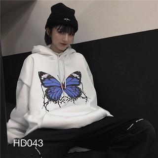 HD043 - ÁO HOODIE IN BUTTERFLY thumbnail