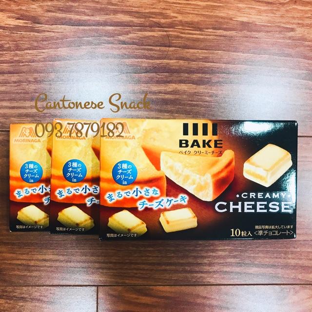 Bánh phô mai nướng Morinaga Cheese Bake Nhật Bản (Date: 05.2020)