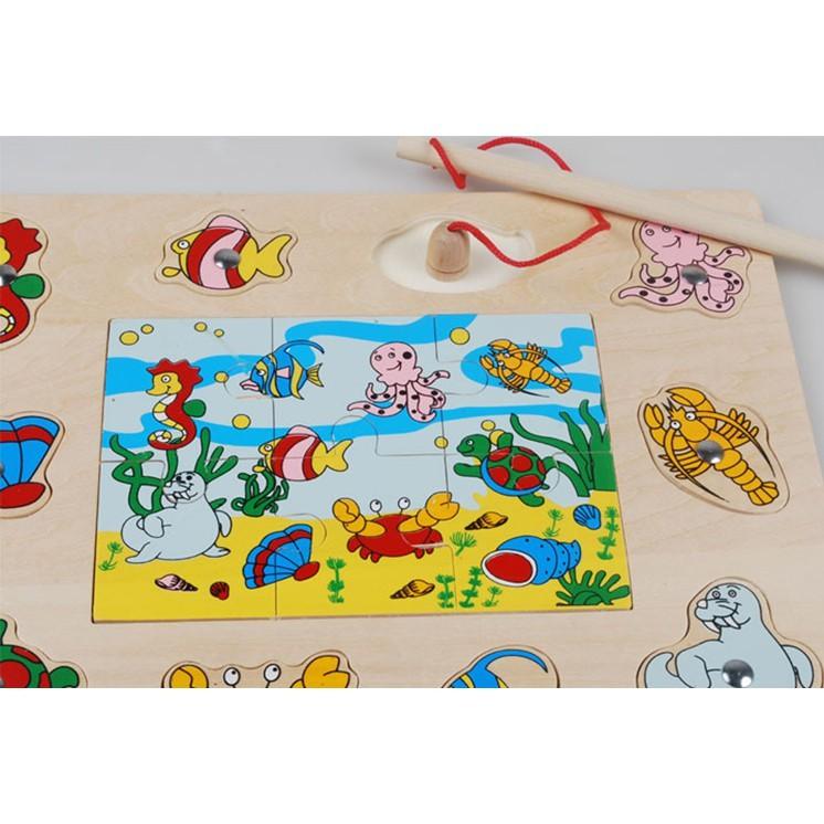 Bộ đồ chơi câu cá bằng gỗ kèm ghép hình - 3588562 , 1326871225 , 322_1326871225 , 92000 , Bo-do-choi-cau-ca-bang-go-kem-ghep-hinh-322_1326871225 , shopee.vn , Bộ đồ chơi câu cá bằng gỗ kèm ghép hình
