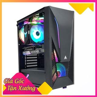 Vỏ Case Gaming VSPTECH KING ARMS dòng Series KA-240 - Full ATX (No Fan) Mặt Kính Cường Lực - Hàng Chính Hãng thumbnail