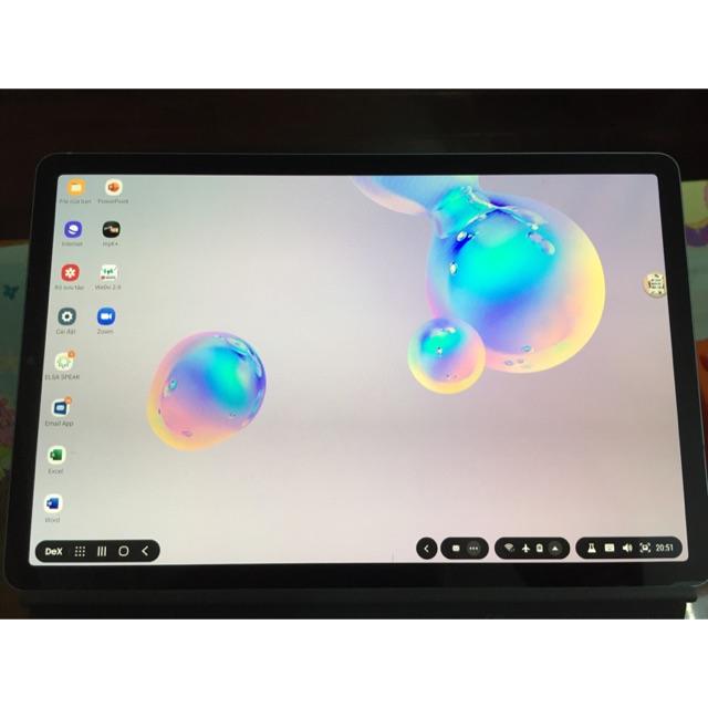 Samsung galaxy tab s6 kèm bàn phím chính hãng