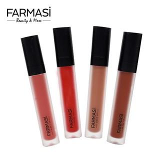 [COSFARTET -20% ĐH60K]Son Lì Mịn Môi, Bê n Màu Farmasi Make Up Matte Liquid Lipstick 4ml (1739LIP) thumbnail