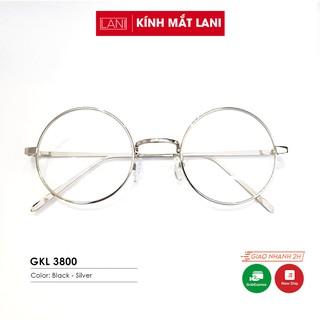 Gọng Cận Kính nam nữ Nobita Tròn xoe chất kiệu kim loại Lani 3800 - Lắp Mắt Cận Theo Yêu Cầu thumbnail