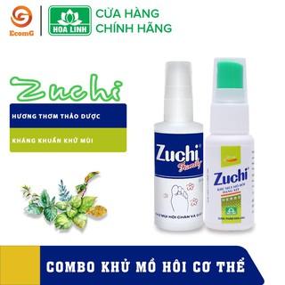 Combo Zuchi – Xịt khử mùi giúp cơ thể thoáng mát, tự tin cả ngày- CB2 -003