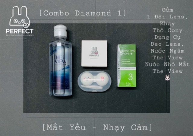 [Mắt Yếu - Nhạy Cảm] Combo Diamond 1 - The View