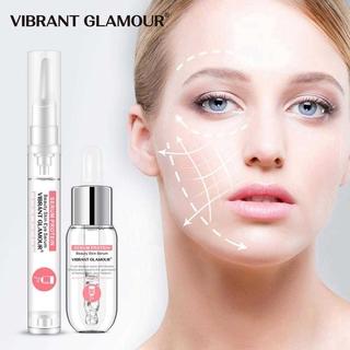 Bộ Serum Protein Dưỡng Mắt Bộ Kem Dưỡng Vibrant Glamour Da Chống Nếp Nhăn Xóa Thâm Quầng Bọng Mắt (Serum dưỡng da mặt 20g +Huyết thanh mắt15ml) 2
