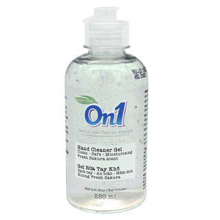 [Mã FMCGM25 – 10% đơn 150K] Gel rửa tay khô sạch khuẩn On1 250ml hương Fresh Sakura – FR267