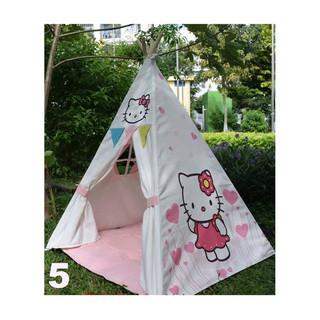 Lều vải cao cấp kitty cho bé