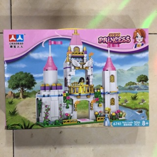 Lego con gái lắp ghép lâu đài công chúa với 356 miếng ghép – đồ chơi xếp hình