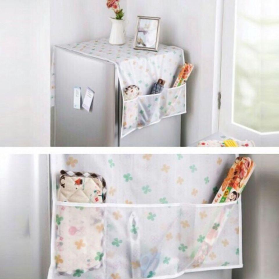 Tấm phủ bảo vệ tủ lạnh họa tiết