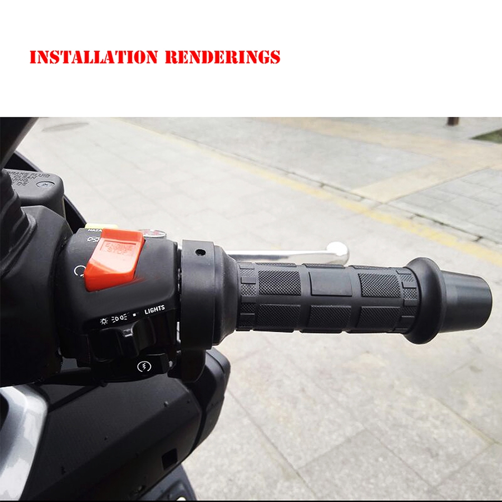 22mm Motorcycle Electric Heated Molded Grips Warmer Handle
