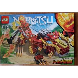 [Hàng có sẵn]Lego Ninja cưỡi siêu thần thú mã 99566