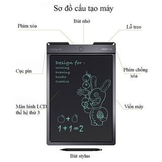 Bảng viết, vẽ tự xóa thông minh Quét lưu hình ảnh VSON 9 inch có nút chống xóa khi viết
