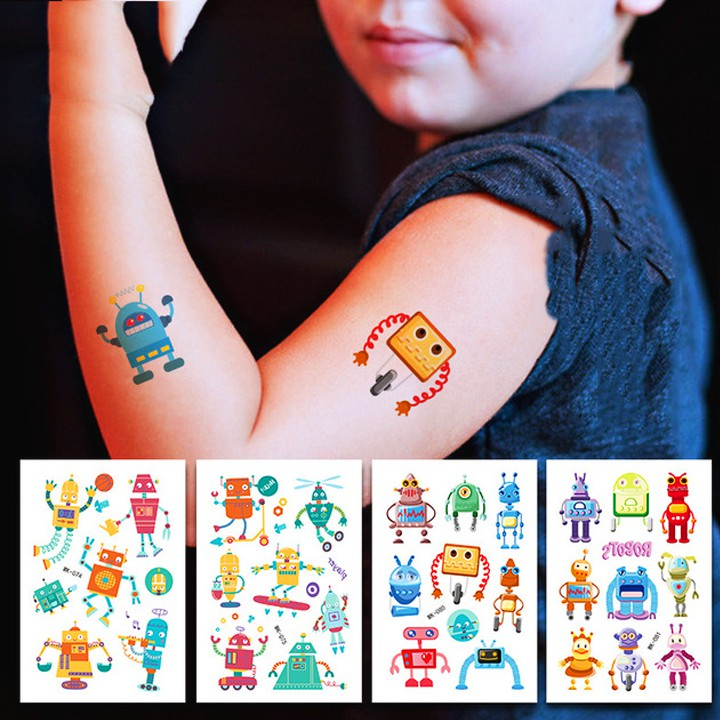 Hình xăm dán chống nước đa dạng chủ đều cho bé trai và bé gái thỏa thích sáng tạo cùng bạn bè BBShine – ST008