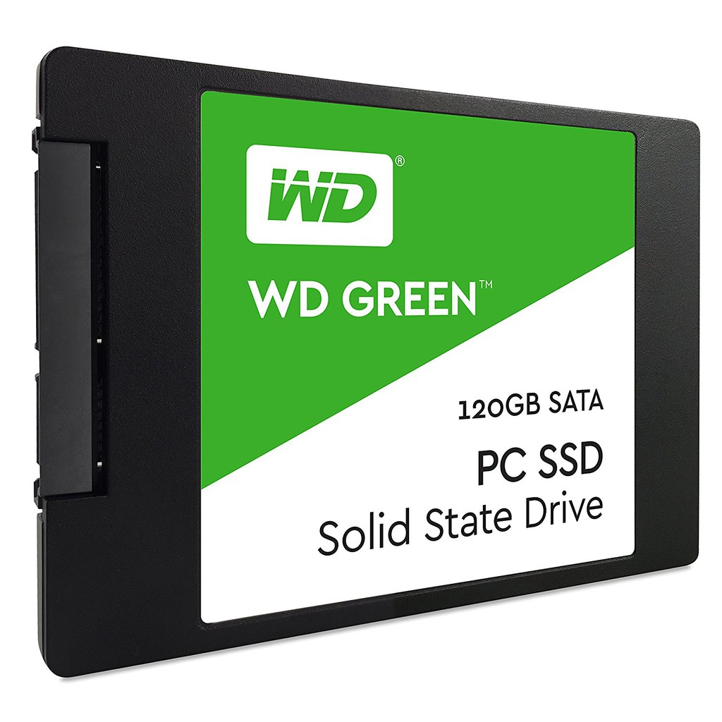 Ổ cứng thể rắn SSD WD Green 120GB WDS120G1G0A - 2.5 inches, TLC, R/W 540/430, SATA3 6Gbps