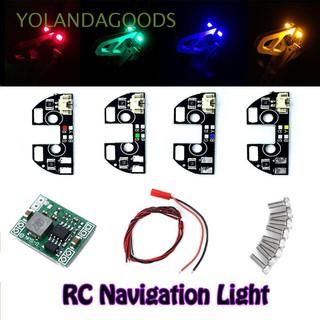🍊F330 F450 F550 S500 S550 High Quality New RC Multicolor DIY LED Navigation Light