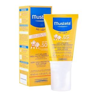 Mustela Kem chống nắng cho bé Very High Protection Sun Lotion Spf 50 - 40ml