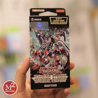 Hộp thẻ bài yugioh Savage Strike Special Edition – Nhập khẩu UK