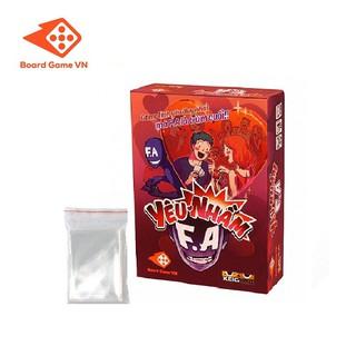 Combo Board game Yêu Nhầm FA và bộ sleeves bọc bài - BoardgameVN