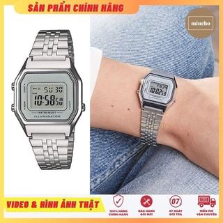 Đồng hồ nữ điện tử chống nước đa chức năng DH49 Miucho