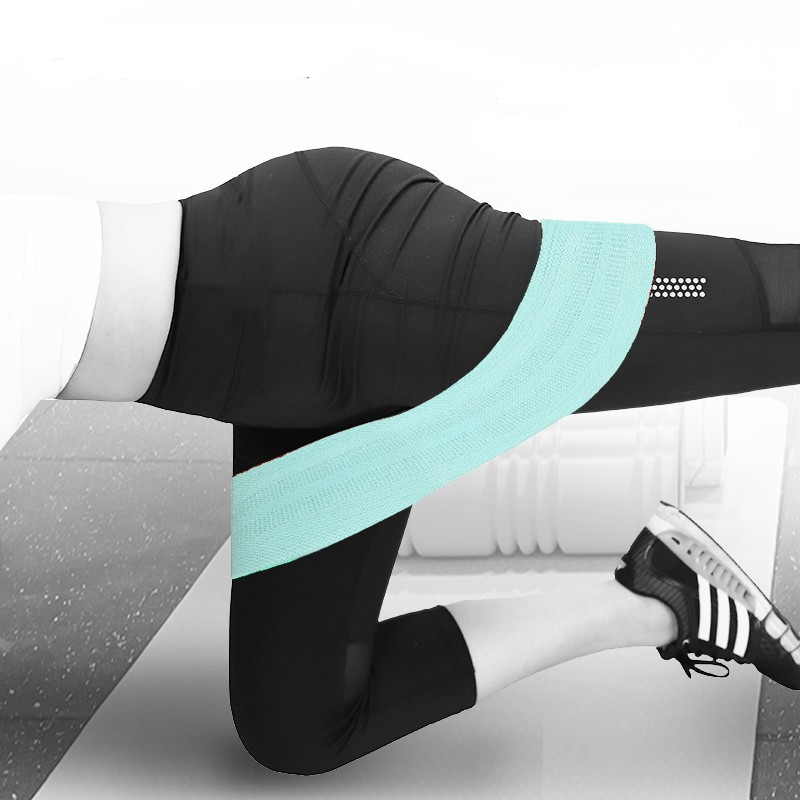 Dây cao su đàn hồi kháng lực tập chân, mông, đùi Bendu PK6301 mini brand siêu bền, chắc chắn