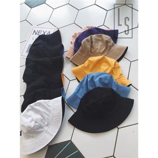 Yêu ThíchMũ Nón Bucket trơn 2 mặt - SẴN HÀNG ẢNH THẬT