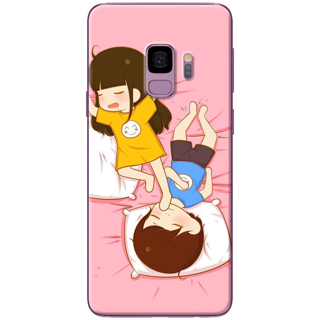 Ốp lưng nhựa dẻo Samsung S9, S9 Plus Ngủ 69