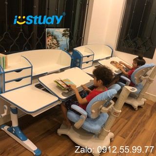 i-STUDY Ghế học sinh chồng gù lưng thông minh cao cấp chính hãng C-10, Ghế giúp bé ngồi thẳng kết hợp với bàn thôn