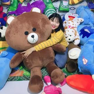 Gấu bông Brown-1M hàng cao cấp-Freeship