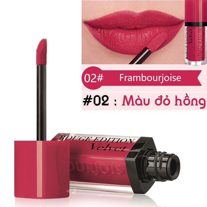 Son lì Bourjois Rouge Edition Velvet Frambourjoise 02
