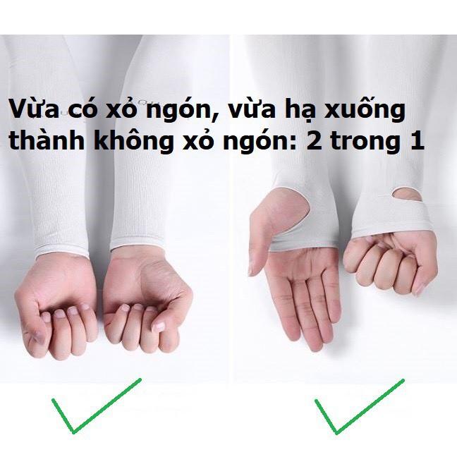 Cặp Bao Tay Chống Nắng ,Ống Tay Chống Nắng Hàn Quốc Let's Slim